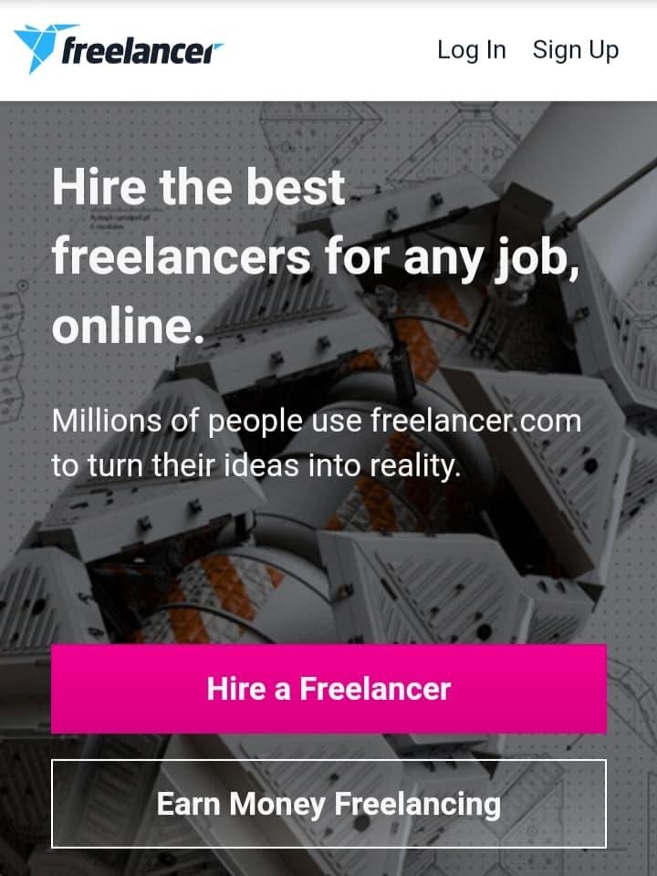 Earn money on Freelancer.com