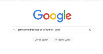 make business appear on google