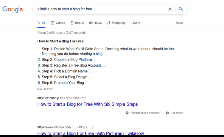 start blogging without money google image